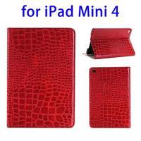 2015 most popular Crocodile Texture protective case for iPad mini 4 cover