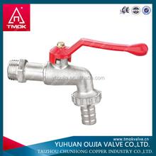TMOK 1/2'' to 1'' brass water bibcock long hose cock garden faucet yuhuan,taizhou,zhejiang,china supplier,brass bibccck factory