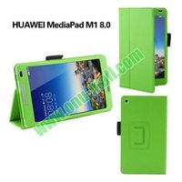 Colourful High Quality Flip Stand PU leather flip case for Huawei MediaPad M1 8.0
