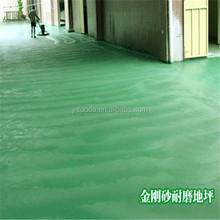 Resistente al aceite, álcali permeabilidad piso materiales cemento
