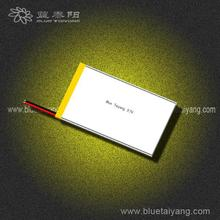 recharge battery 3.7V 654680 2600mAh rechargable lithium-ion battery