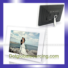 "Wholesale! 12"" LCD Digital Photo Frame/Electronic Picture Display/MP3 Video Media Player with Remote/SD Card"