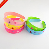 Kids Neon Color Cute Mouse Hair Accessories Plastic Headband