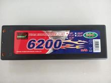 RC cars 7.4V 6200mAh 50C 2S1P cheap lipo batteries