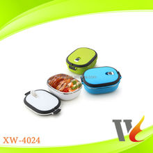 square-shaped plastic food container/single layer lunch box