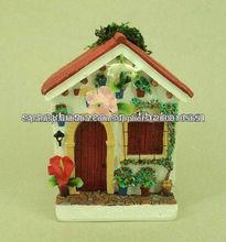 Souvenir flower house, country travel souvenir