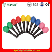 Promotional color customized plastic mini maracas from china