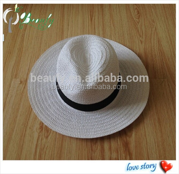 Different Material Hot Sale Panama Straw Hat