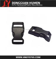Jinyu lanyard safety breakaway buckle/plastic rubber paracord buckle/snap lock buckle