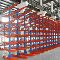 CE Certificated Heavy Duty Loading Cantilever Rack (H-Steel Structure Storage racks)
