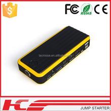 Factory Offer Multi funcation Emergency lithium portable battery jump starter 12000mAh
