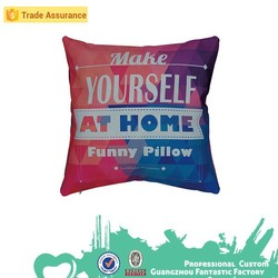 home decorations made in china embroidery design printing cushion