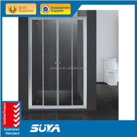 beauty equipment tempered glass shower room enclosed shower cubicles