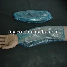Waterproof Blue PE Over sleeve