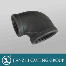 BS thread Hot-dip g.i. malleable iron pipe fittings of elbow,reducing