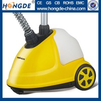 professional High quality imported material 1500W automatic easy operating & Colorful stand steamer iron