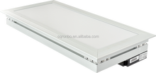 22w 1100lm AC100-240V Cool White Aluminum Frame Led Panel Lights For Family Schools Office