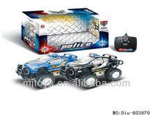 2ch rc police car in open stock