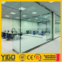 door glass / interior tempered glass doors