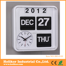 Christmas home decoration wall flip clock