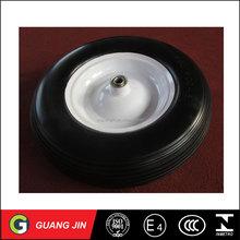 Diamond pattern rubber wheelbarrow wheel air tire small go cart tyre 4.00-4