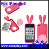 For iPhone 5 iPhone5 Rabbit Silicon Cover Case -- with tails