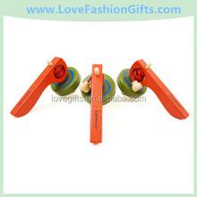 Colour Wooden Kids Peg-Top Toys