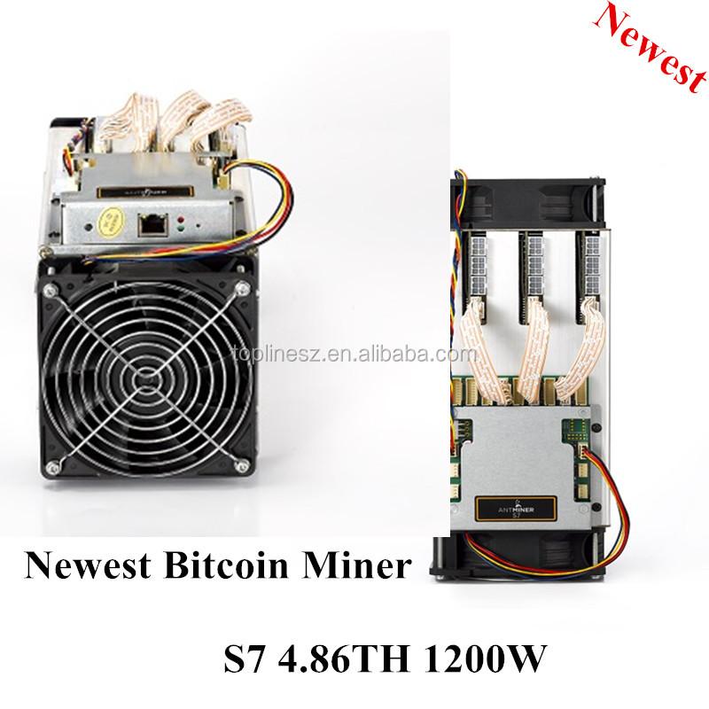 New Bitcoin Miner S7 Sha-256 Btc Bitcoin Miner 4.86th/s
