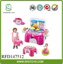 Plastic toys kitchen play set kitchen toy with light and sound,modern kitchen designs