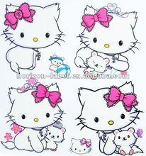 2012 Best Price custom stickers hello kitty