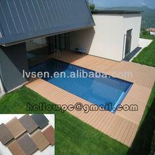 100% problem free composite plastic flooring