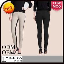 moderno estilo de las damas pantalones de punto pantalones casuales 2014 las mujeres