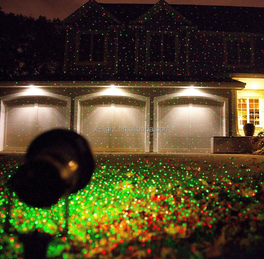 outdoor laser light christmas decoration Star Shower