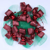 Christmas deco mesh wrap used in packaging christmas tree or making wreath