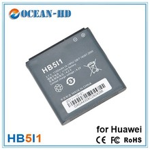 HB5I1 for Huawei cell phone rechargeable li-ion battery 1100mah