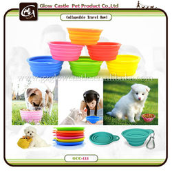 Healthy Diet Ros Silicone Pet Expandable/Collapsible Travel Bowl,Available 6 Colors
