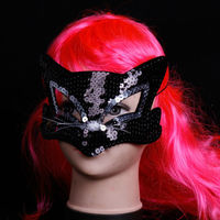 Wholesale cat sequins fancy Carnival masks