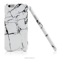 elegent White Marble Pattern Hybrid TPU Protective Hard Shell Back Case for iphone 6plus