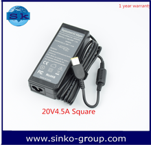 20V 4.5A Adaptor Laptop Power Supply High copy with Yellow square For Lenovo