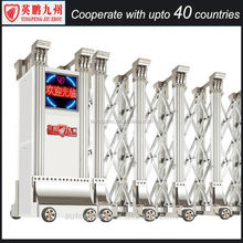 Aluminum automatic barrier gate Wall Boundary Fence Gates
