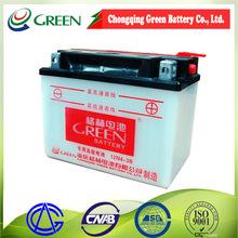 Carro espiral da ferida de chumbo-ácido de bateria recarregável 12v 38ah 6-swb-38,bateria
