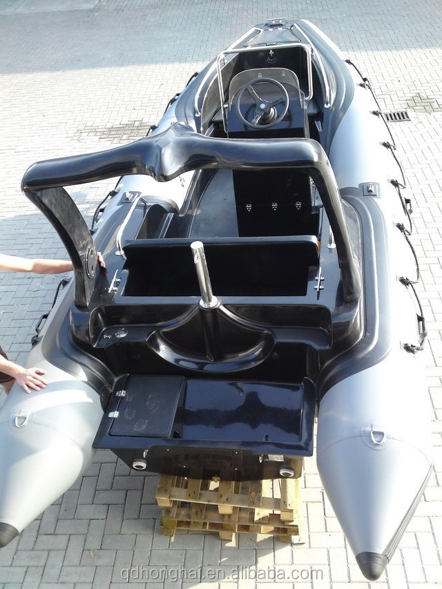 Rib580c Inflatable Boat Motor Boat With Ce View Rib580c