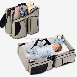 2015 BSCI Aduit Outdoor Baby Portable Crib, Travel Foldable Baby Carry Bag