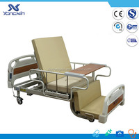 3 functions hospital bed with commode