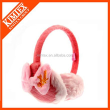 Hot fashion wholesale fur winter ear cover with high quality animal fur