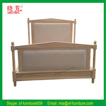 2016 China new product hot selling newest carved alibaba china white oak wooden bed