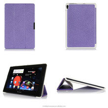 super thin folio stand tablet case for Lenovo A10-70 A7600