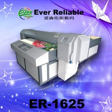 High resolution digital flatbed glass dinning table printing machinery