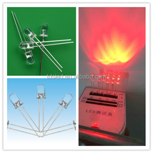 common anode 5mm RGB Led light fast / slow color changing