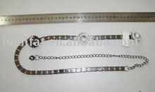 fashion belt,metal belt,rhinestone belt